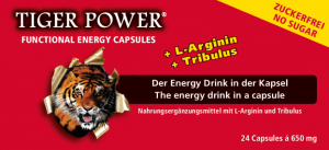 Tiger Power Functional Energy Kapseln